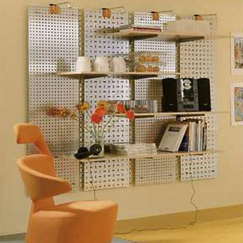 Chapa perforada mobiliario interior