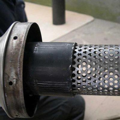 Chapa perforada automóvil