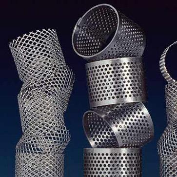Chapa perforada filtracion