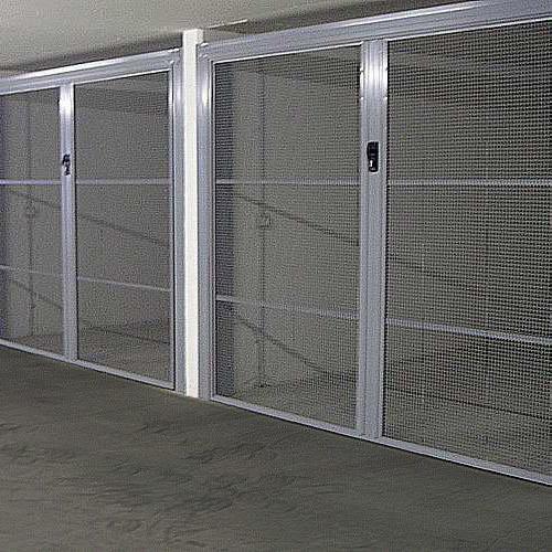 Chapa perforada puertas